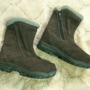 Sorel Water Fall Winter Thinsulate suede boots